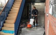 Dieptereiniging natuursteen vloer