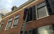 Glazenwassen herenhuis Haarlem